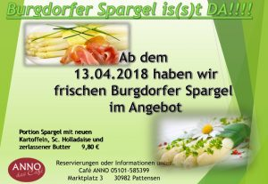 Burgdorfer Spargel 2018
