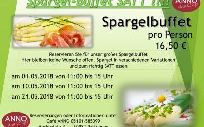 Das Anno-Spargel-Buffet